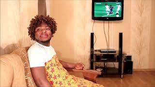 Papa Ojo & Mama Ojo watching football Samspedy 1