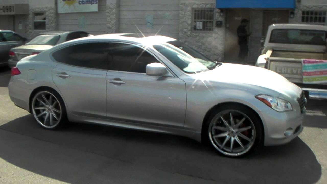 877 544 8473 22 Inch Asanti Abl 5 Silver Wheels Infiniti M37 Rims Free Shipping Call Us Youtube