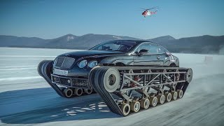 Bentley UltraTank Sets up the Official Record of Russia
