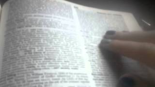 ASMR Dictionary reading - meridian