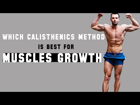 Which Calisthenics Method Is Best for Muscle Growth Between Circuits, Pyramids, and Sets & Reps?