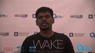 Quafit Aquatic Fitness Instructor Course Testimonial - Rajendra Prasad