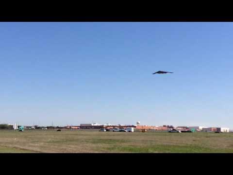B-2 Tinker Air Base Takeoff on 4-11-17