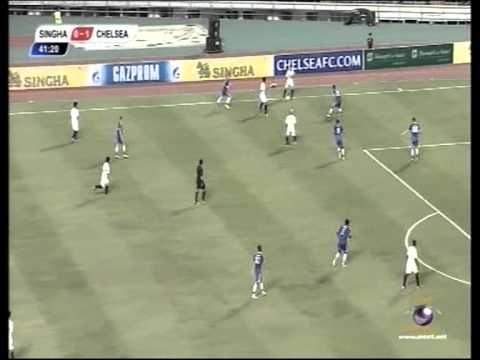Chelsea vs Singha All-Star (Thailand) - Full Match