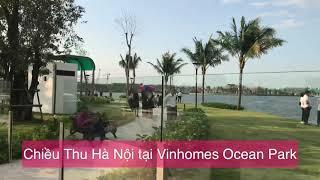 Chiều thu Hà nội tại Vinhomes Ocean Park
