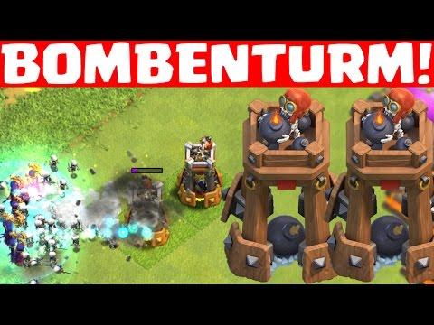 BOMBENTURM! - NEUE VERTEIDIGUNG || CLASH OF CLANS - UPDATE || Sneak Peek #3