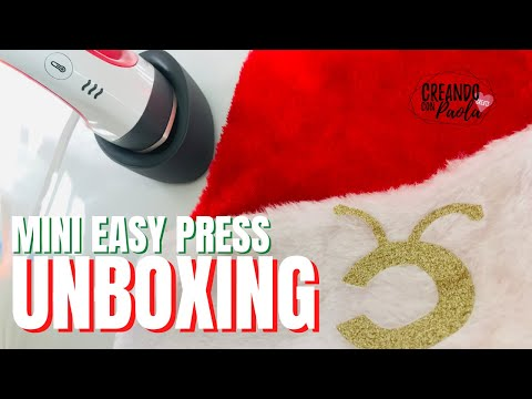 UNBOXING Cricut Mini Easy Press + Proyecto