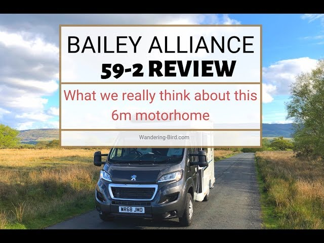 Bailey Alliance 59 2 small motorhome review- the best compact motorhome??