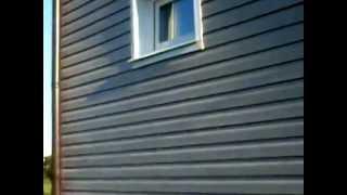 Ошибки монтажа сайдинга. Видео обзор от ТрейдГрупп