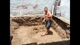Construindo uma piscina, um sonho realizado parte 1.wmv