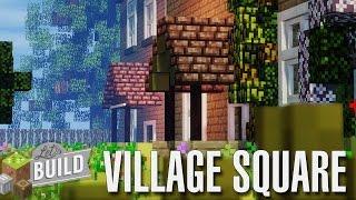 minecraft british square village