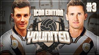 BRUTALE GEGNER! KRANKES TORFESTIVAL! 🏆🔥 FIFA 19 YOUnited Icon #3