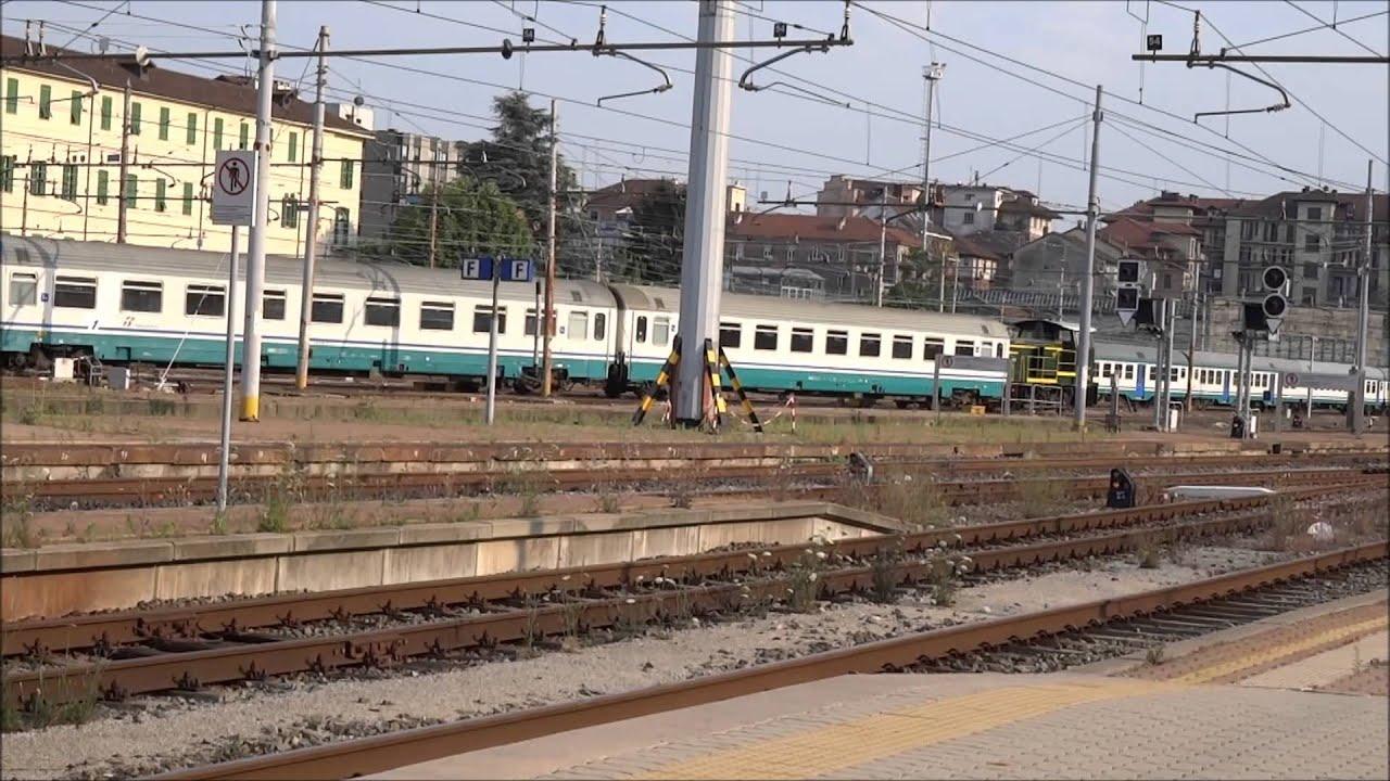 Treni a torino porta nuova parte 2 youtube - Orari treni milano torino porta nuova ...