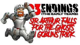 Endings: Sir Arthur Falls for the Ghosts 'N Goblins Trick - Defunct Games