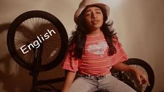 Multi Laguage Song Video by Indian Girl