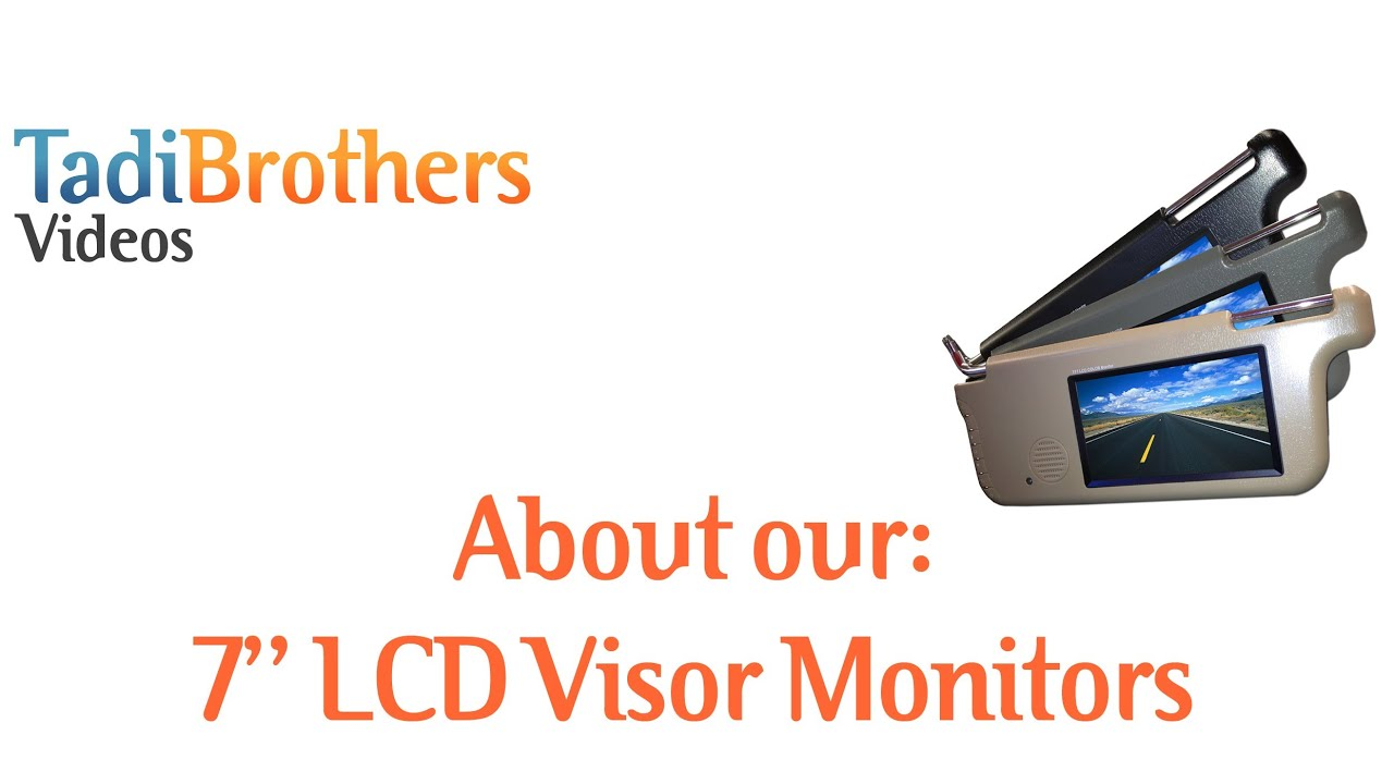 maxresdefault visor monitor for backup camera systems from www tadibrothers com  at mifinder.co