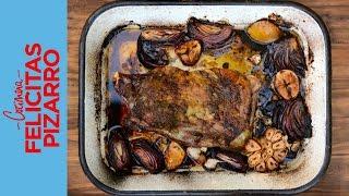 Roasted Lamb Recipe (cordero Asado) | Felicitas Pizarro