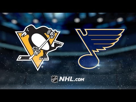 Crosby leads Penguins to win against Blues