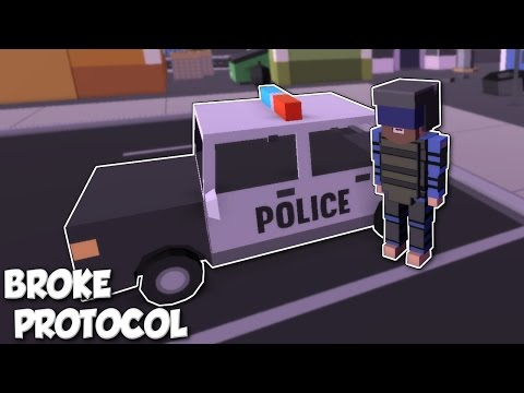 BEING A POLICE OFFICER & ARRESTING PEOPLE! - Broke Protocol [Ep 2] Alpha Gameplay