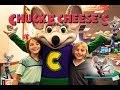CHUCK E CHEESE FUN FAMILY VISIT AND GAME CHALLENGE! | Gabe and Garrett
