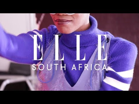 Nonku For ELLE South Africa March issue