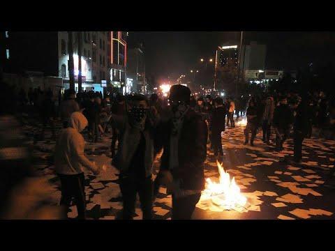 Dozens die in violent clashes across Iran