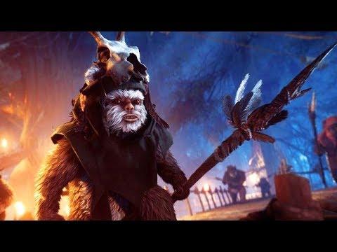 STAR WARS BATTLEFRONT 2: EWOK HUNT Walkthrough (Limited Time Event) 1080p 60FPS