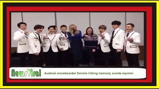 Ivanka meets KPOP band Exo after the Olympic Closing Ceremony News Viral