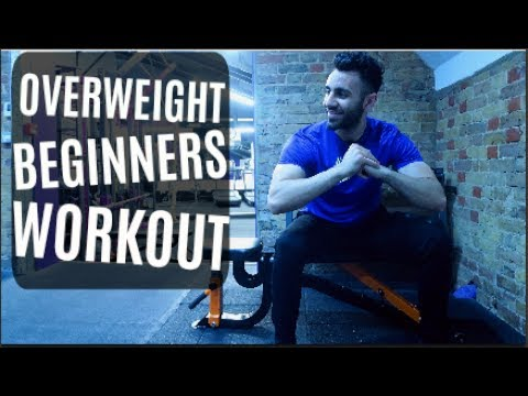 Overweight Beginner Workout MADE EASY IN 5 MINUTES!