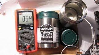 Обзор + тест пищевого термоса Stanley Utility Vacuum Food Jar