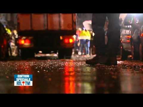 Violente explosion hier soir à Schaerbeek. - Une vidéo de RTL Info.flv
