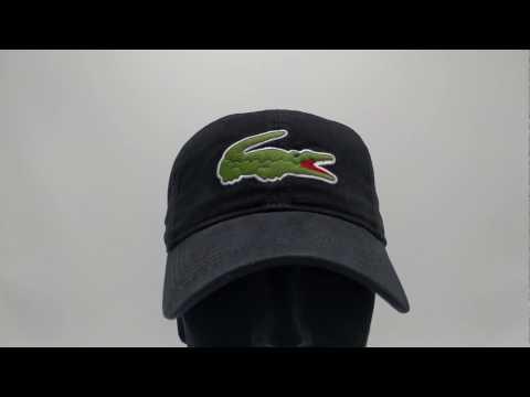 lacoste-pet---big-croc-gabardine---noir-black---€44,95---gratis-verzending---capkopen.nl