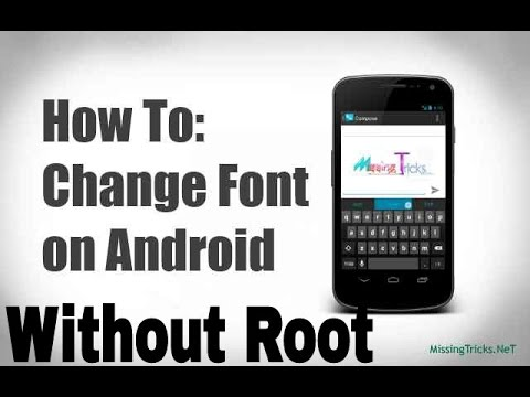 how to get fonts without root