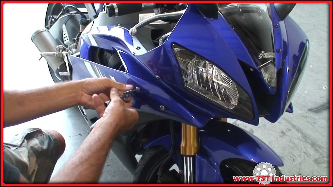 2000 yzf r6 wiring diagram xlr male to female 2006 2007 yamaha flushmount signals installation diy youtube