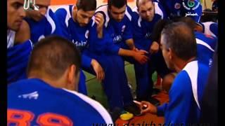 مباراة -  نادي سطاوالي VS نصر حسين داي -  التسخينات و تعليمات المدربين