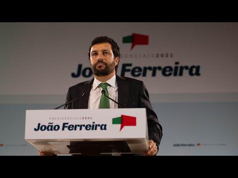 Declaração de Candidatura de João Ferreira a Presidente da República