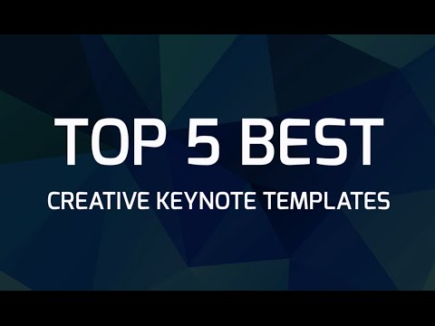 Top 5 Best Creative Keynote Templates