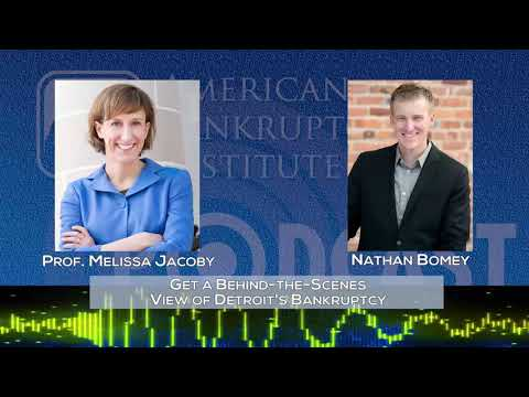 Ep177- Get a Behind the Scenes View of Detroit's Bankruptcy