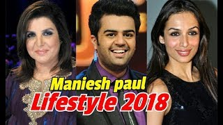 Maniesh paul lifestyle,family,age,house,income,wife,soon,car,lifestory, hobby and others information
