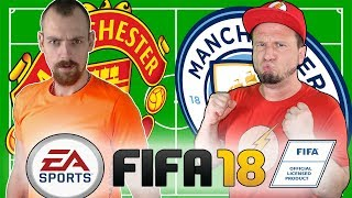 FIFA 18 - Manchester United VS. Manchester City | Youtuber Duell gegen Benmasterful | EgoWhity