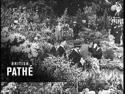 Royal Visitors At The Chelsea Flower Show (1936)