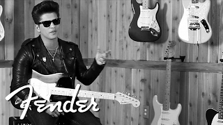 Bruno Mars on Fender Guitars | Fender