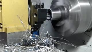Обработка втулки на токарном станке с ЧПУ