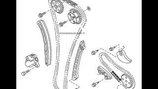 Цепь ГРМ 2 / MAZDA CX-7 (ER) 2.3 MZR DISI Turbo