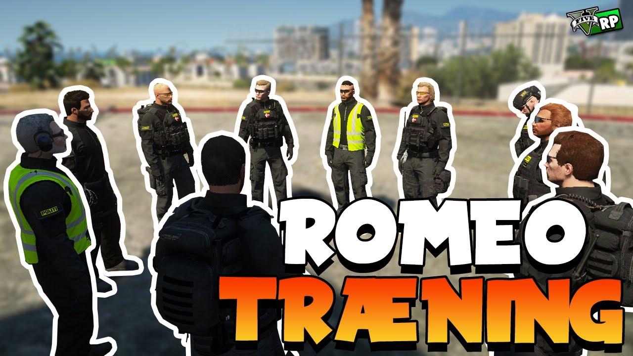 ROMEO TRÆNING! | GTA 5 RP