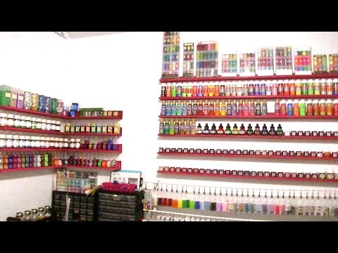 Display shelves tutorial