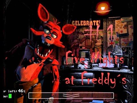 Five nights at freddy 180 s el ataque de los animatronics 1 youtube