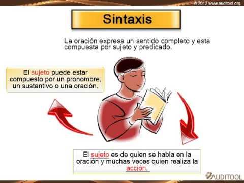 ortografía y redacción gramática  sintaxis  youtube