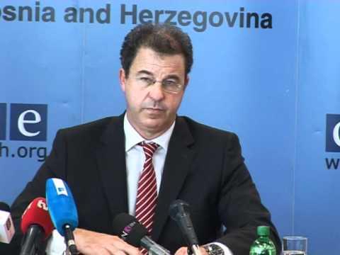 OSCE je doprinio pozitivnom razvoju pravosuđa u BiH (Serge Brammertz)