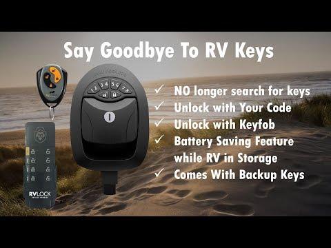Keyless Slam Bag Lock - RVLOCKS